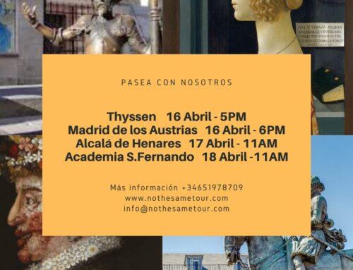Próximas visitas 16-18 Abril
